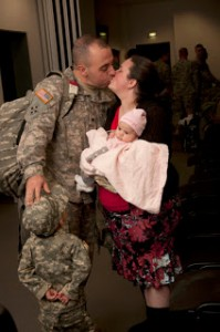 April: the month of the Military Child.
