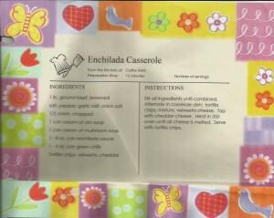 Aunt Cathe's Enchilada Casserole