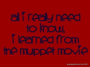 Lessons from The Muppet Movie
