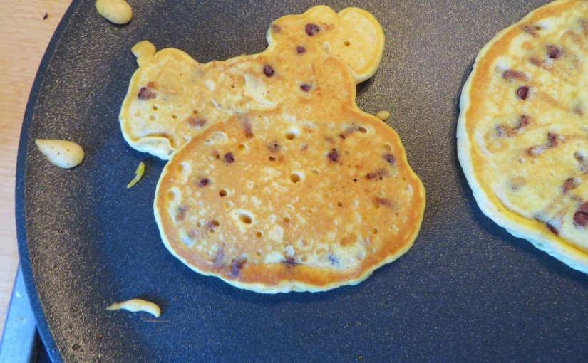 Happy Fall, Y'all with pumpkin pancakes EGG FREE!